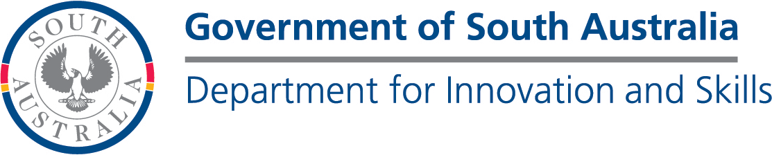 Government of South Australia - Department for Industry and Skills